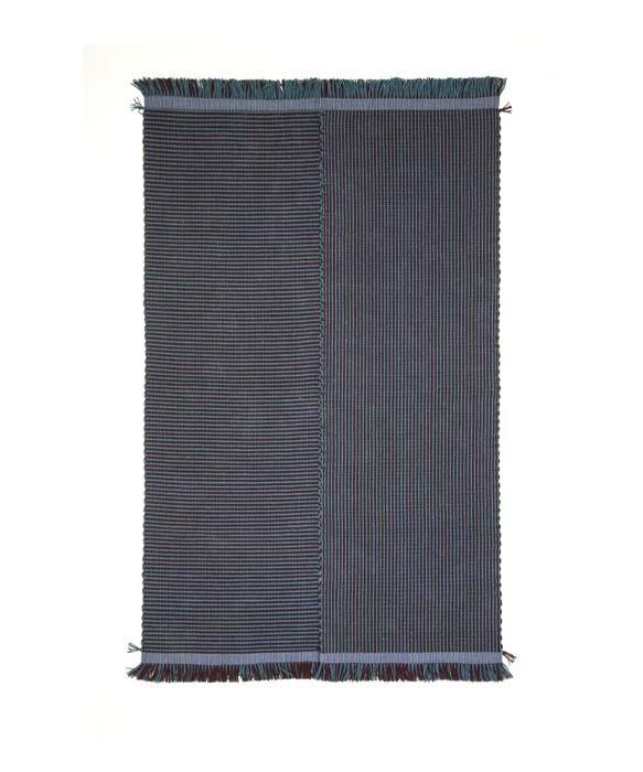 tappeto realizzato su antichi telai del 1800 tessoria asolana