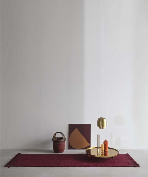 tappeto moderno realizzato a mano per soggiorno tessoria asolana